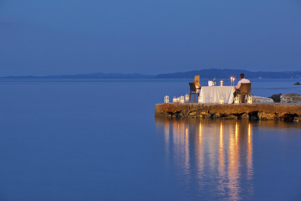 Private Dining: The Epitome of Romance in the Ionian