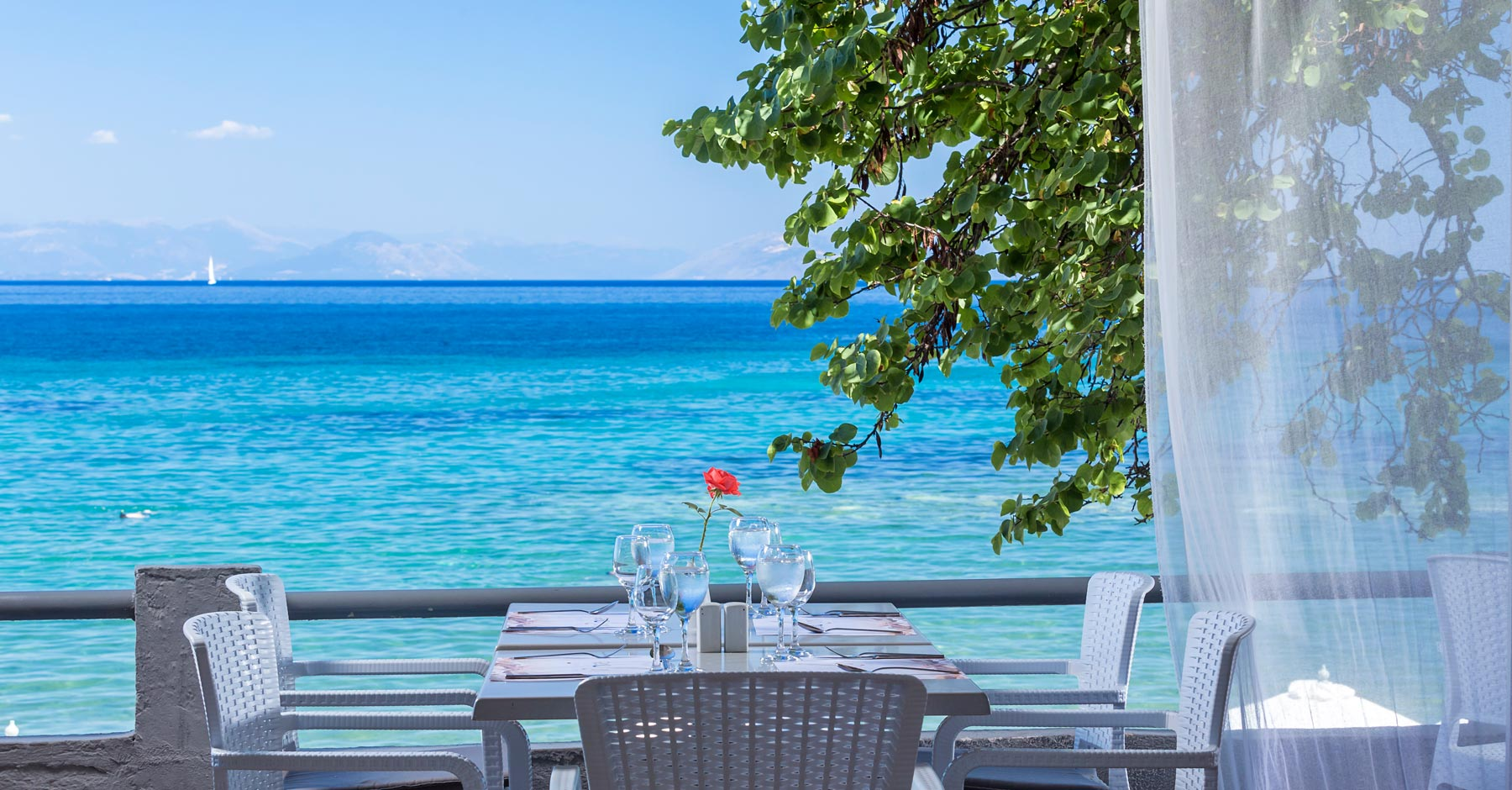 Aeolos Hotel - Restaurant View